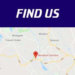 Winsford Tool Hire Location